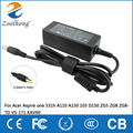 19V Zoolhong AC Adapter Power Charger for Acer Aspire one 531h A110 A150 103 D150 ZG5 ZG8 ZG8-TD V5-171 KAV60