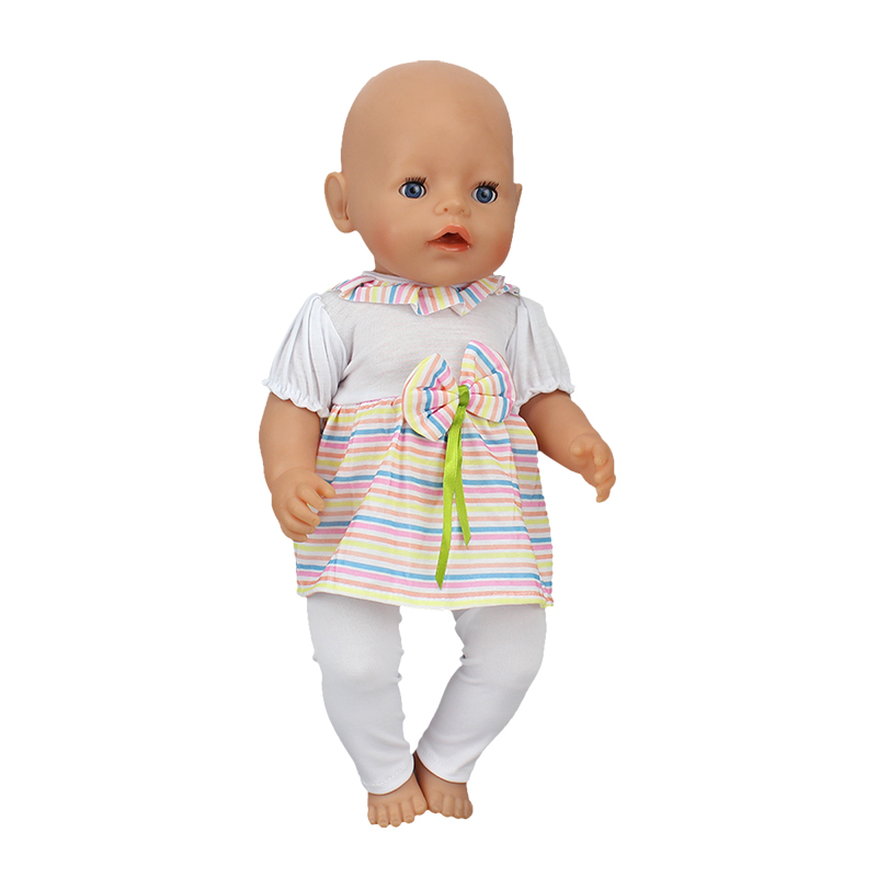 Doll-Jump-Suits-Fit-For-43cm-Baby-Born-Zapf-Doll-Reborn-Baby-Clothes-4