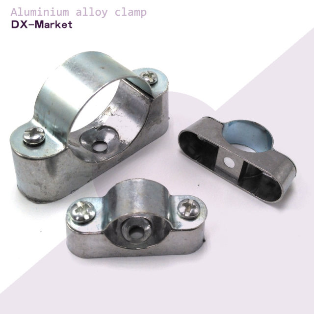 16mm  20pcs/lot  Aluminium alloy Pipe cl&  cable clip Water pipe fixing bracket cl&s  sc 1 st  Aliexpress & Online Shop 16mm  20pcs/lot  Aluminium alloy Pipe clamp  cable ...