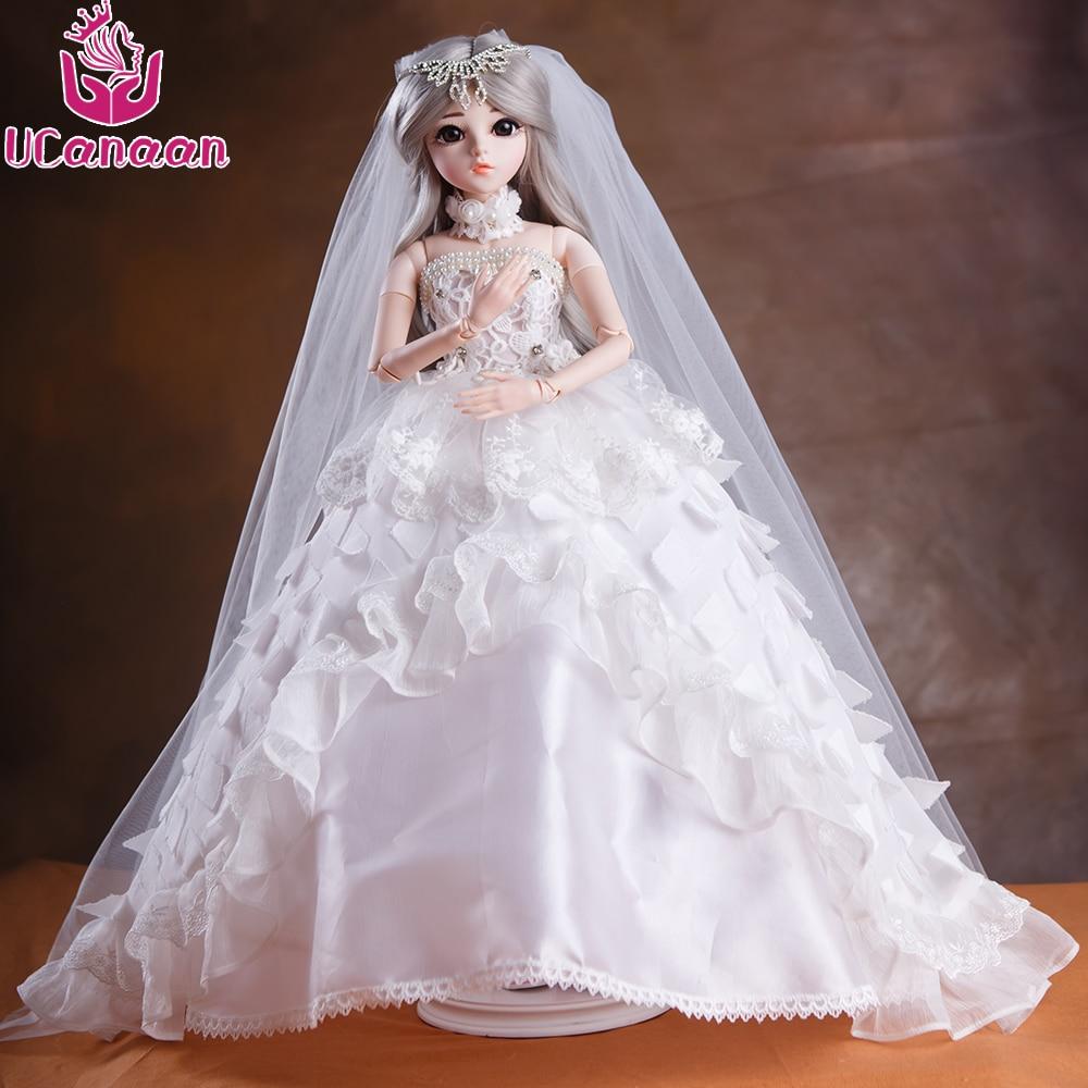 UCanaan 60CM Elegante 1/3 BJD Doll With Outfit Zapatos de vestir - Muñecas y peluches - foto 6