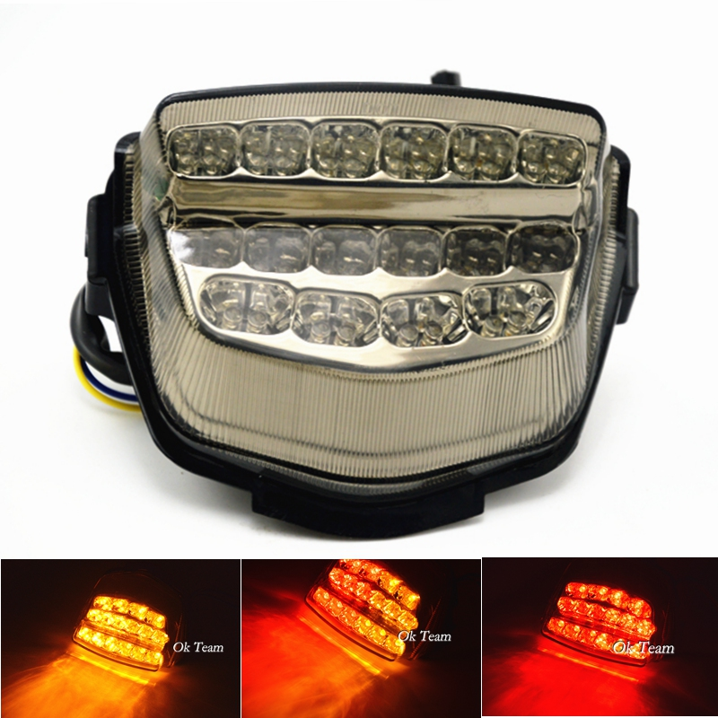 Motorcycle CBR1000RR Integrated LED Tail Light With Turn Signals For CBR1000RR 2008-2012 2009 2010 2011 Brake Light