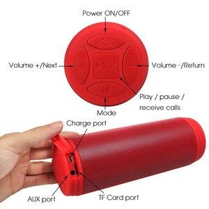 Image 5 - Wireless Bluetooth Speakers Best Waterproof Portable Outdoor Loudspeaker Mini Column Box Speaker Design For iPhone Xiaomi Huawei