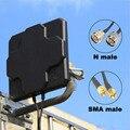 2 * 22dBi Outdoor 4G LTE MIMO Antenne Dual Polarisation Panel Directional Externe Antenne Für Wirness N männlichen SMA männlichen 20cm Kabel