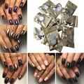 12 colores/set de uñas Glitter pigmento Mirror chrome nail powder Polvo Manicura Hermosa Lentejuelas Del Arte Del Clavo Glitters Pigmento de Cromo