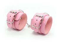Sex tools for sale pu leather handcuff legcuff bdsm fetish bondage restraint set sextoys adults sex games for married couples.