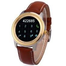 ท็อปส์รับสายข้อความเตือนdm365 smart watchสำหรับa ndroid 4.3/ios 7.0บลูทูธ4.0ป้องกันการสูญหายฟังก์ชั่นการโทรpedometer