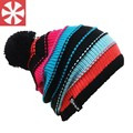 CaiZhongHai / B4 polar fleece woolcn Pom pom Winter Hats For Women Men Beanie Knit Hats Warm Ski Skullies Beanie Caps