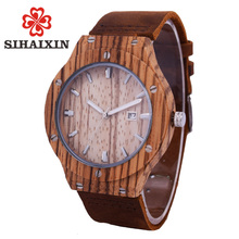 Newest Mens Quartz Wrist Watch with 2-Ton Week Display SIHAIXIN