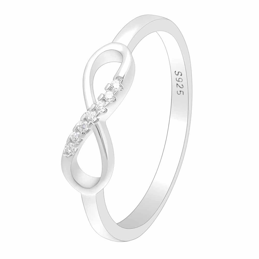 White Gold Silver Cross Ring Silver Color Meaning Love