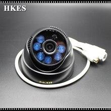 HKES 4pcs/lot Audio mini video surveillance security camera HD 1080P 6pcs infrared Led with external microphone