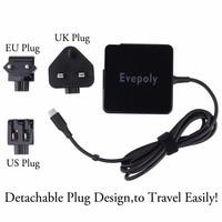Nouvelle Arrivée USB C TYPE C Auto-adaptation Ordinateur Portable, Tablette, Mobile Téléphone Chargeur Pour Apple Macbook Pro/Asus Zenbook/Lenovo/Commutateur/Sony