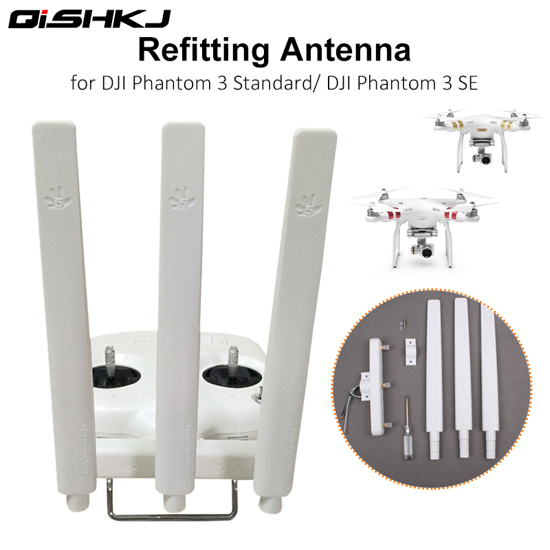 Omni-directional Extended Range Signal Booster Signal Enhanced Refitting Antenna For  DJI Phantom 3 Standard 3S 3SE Drone