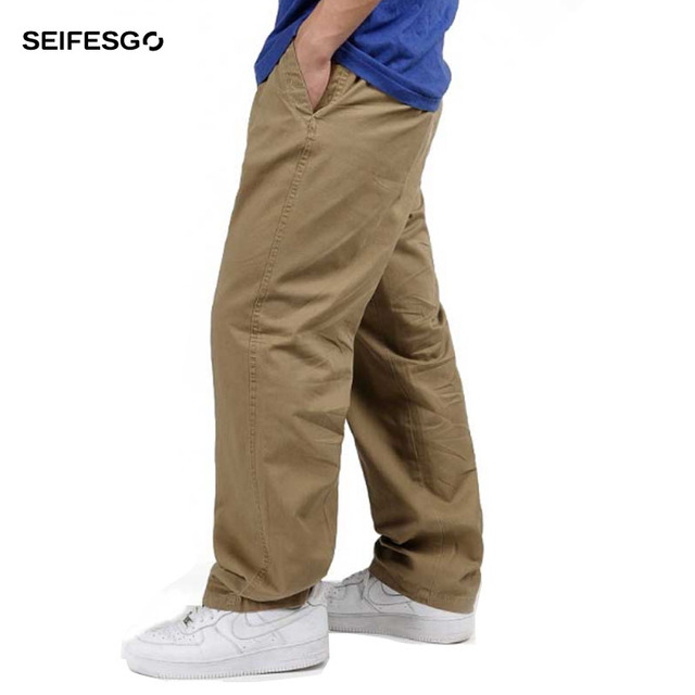 Plus Size 5XL 6XL 2017 Spring Good Quality Men's Cargo Pants Casual Mens Pant Baggy Military Tactical Long Full Length Trousers