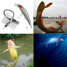 New arrival 2017 Useful Rechargeable Twitching Fishing Lures Bait USB Recharging Cords Precious pesca baits