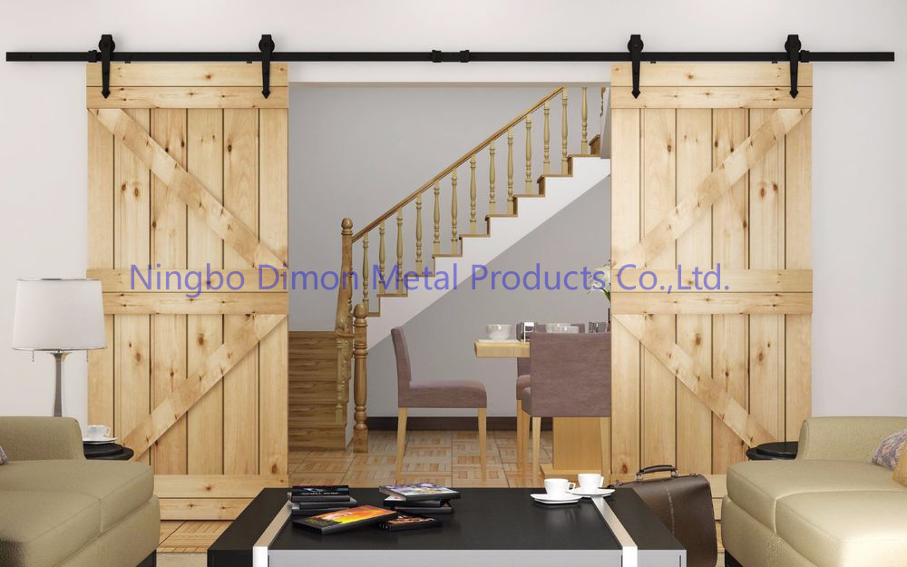 Dimon Customized Sliding Door Hardware Wood Sliding Door Hardware Hanging Wheel America Style Sliding Door Hardware Dm Sdu 7204