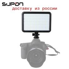 Новый TTV-204 LED на Камера свет Панель Би-цвет 3200 К ~ 5500 К затемнения для Canon Nikon Pentax DSLR Камера для студии фотографии