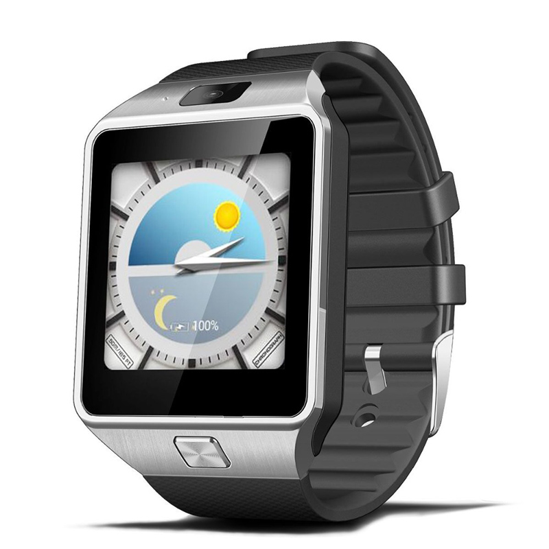Bluetooth 3G WIFI Smart Watch Men GPS Clock Camera 5MP 1.54
