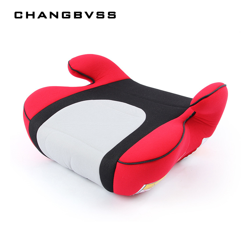 Portable Travel Kids Booster Car Seats 5 Colors Baby Safety Car Seat Thicken High Chairs Cushion For Child Sitting Seat 3~12Y sitting