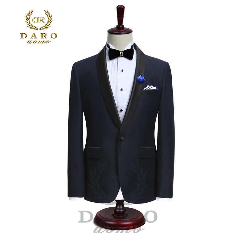 DARO роскошные мужские костюмы, куртки, брюки, формальное платье, мужской костюм, свадебные костюмы, смокинги для жениха (куртка + брюки) DR8858