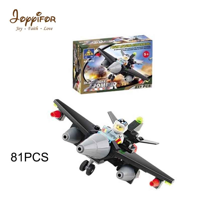 Joyyifor 2 kinds Black Hawk Boeing AH-64 Apache helicopterING gunships LEGOILYS assembly model Building Blocks Children Toys