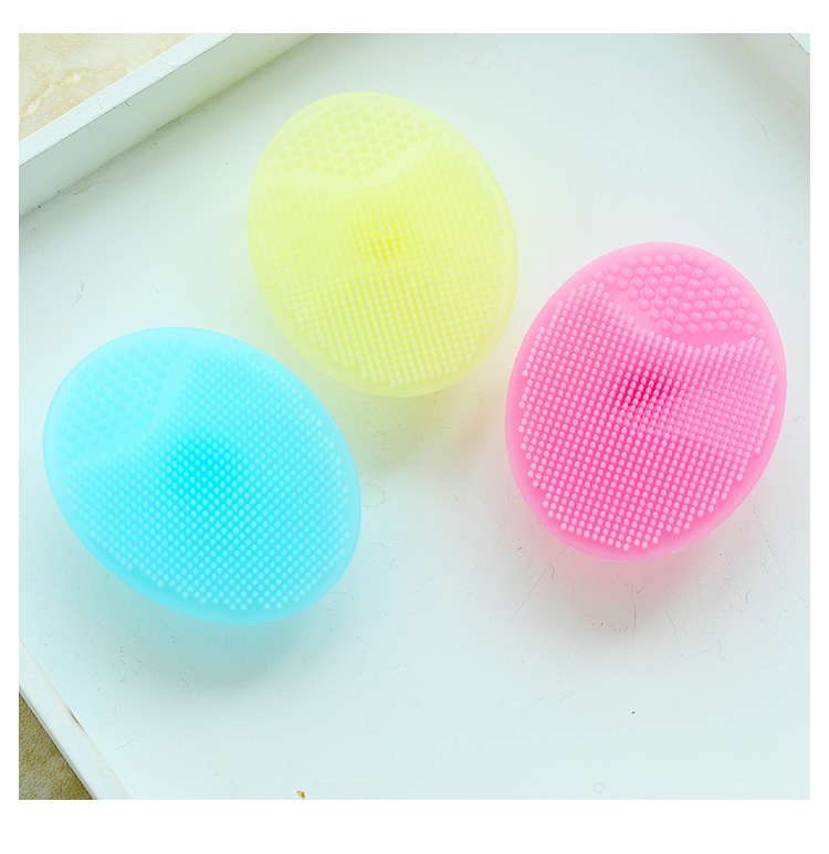 3pcs Baby shampoo Brush Massager silicone scalp clean Head Comb Head Cleaning Massage Scalp Massager Head Hair Brush high quality scalp massage comb 3 color mixed hair hair curls comb send elders the best gifts health care tools
