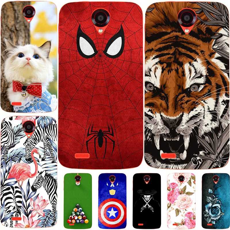 Lovely Cartoon <font><b>Phone</b></font> <font><b>Cases</b></font> <font><b>For</b></font> <font><b>Lenovo</b></font> S860 S960 S850 S820 S660 S650 S90 <font><b>S60</b></font> P780 A6 Note <font><b>Case</b></font> Animal Pattern Cover Coque Fundas image