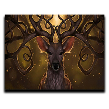 5d Diy Diamond painting of the cross stitch animals round Complete\square mosaic Arts and Crafts diamond embroidery deer head