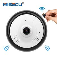 MISECU Mini 360 Degree VR Panoramic Camera IP Wifi Indoor Widest Viewing Angle Two Way Audio