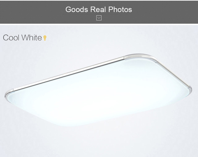 Plafoniere Led Rgb : Online shop modern led ceiling lights for living room square