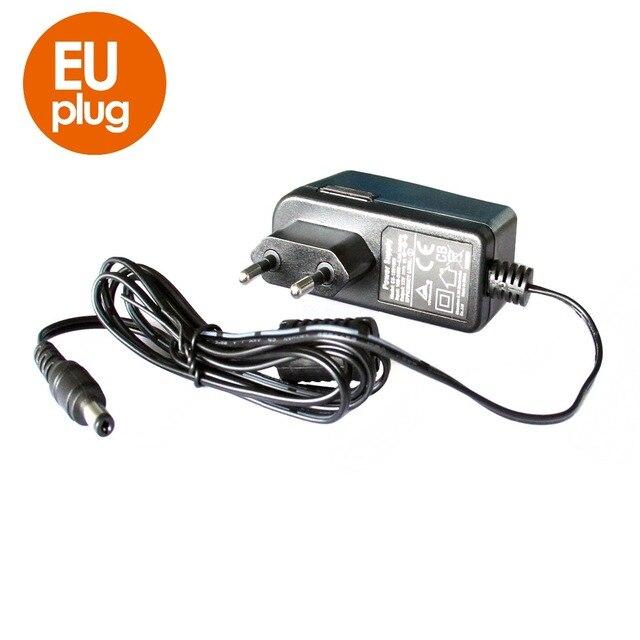 """12V 1A AC 100 V 240 V ממיר מתאם DC 12V 1A1000mA CE סטנדרטי אספקת חשמל האיחוד האירופי בריטניה AU ארה""""ב Plug 5.5mm x 2.1mm עבור טלוויזיה במעגל סגור מצלמה"""