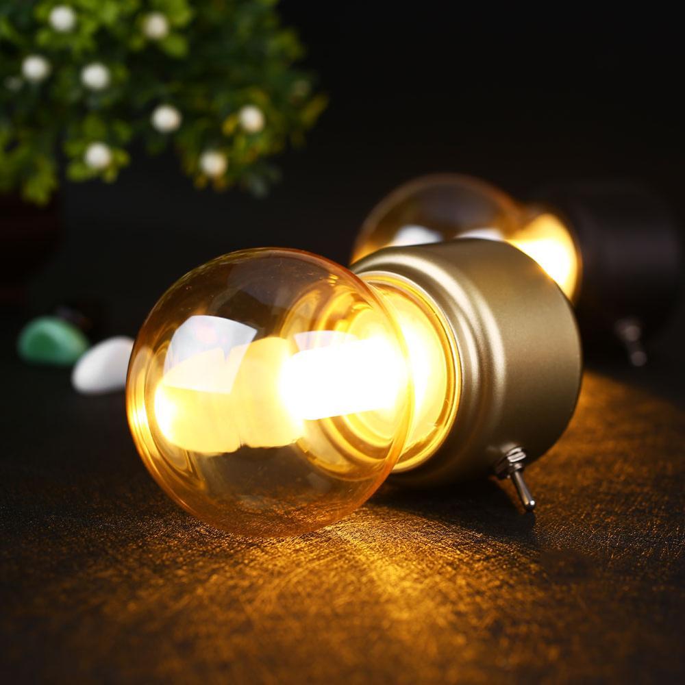 2019 Nouvel An Led ampoule classique lampe de bureau de soufflage - Veilleuses - Photo 3
