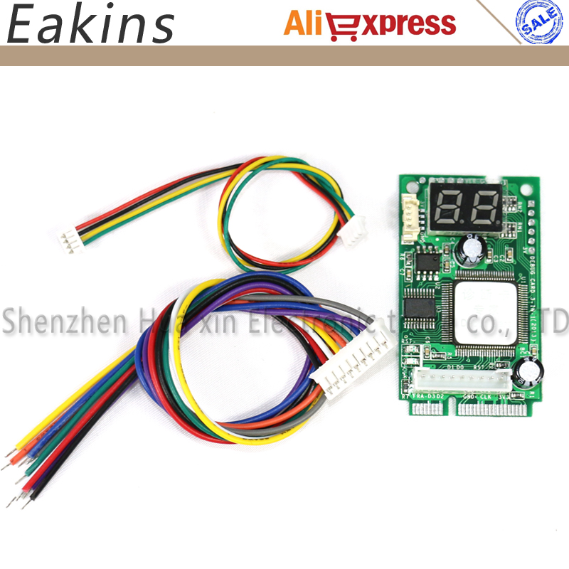 Compal Diagnostic test card laptop motherboard Universal Diagnostic Test POST tester Card Mini PCI-E Not connecting line the new diagnostic card test card above t61 specific diagnostic card test card