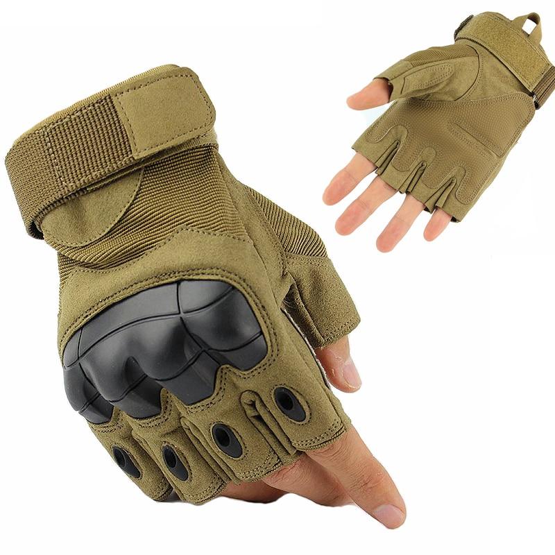 Gant de combat demie-doigt coqués
