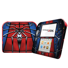 Spiderman ไวนิลสติกเกอร์ผิวสำหรับ Nintendo 2DS สกินคอนโซลสติกเกอร์