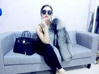 Topshop 2019 Women's Winter Genuine Fox Fur Coats The Ultimate Luxury Outerwear Regular Length Natural Color S M L XL WF0004
