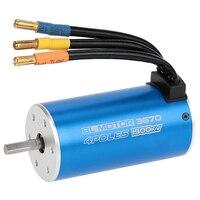 HOT SALE 3670 1900KV 4 Poles Sensorless Brushless Motor for 1/8 RC Car