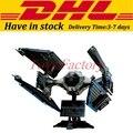 EN Stock LEPIN 05044 703 Unids Star Wars UCS TIE Interceptor Modelo Kit de Construcción de Bloque Conjunto de Ladrillo Compatible Juguete de Los Niños 7181