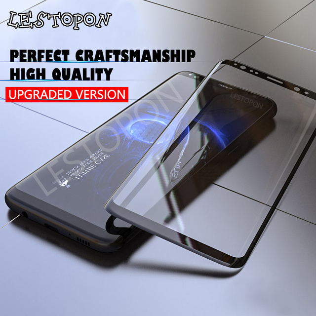 3D изогнутые анти взрыв Экран протектор Плёнка для Samsung Galaxy S8 S8 плюс S7 край закаленное Стекло для Samsung S8 S7 Edge стекло