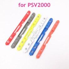 Substituição nova opcional do quadro do volume da barra do botão do volume de 6 cores para ps vita 2000 para psv2000 psv 2000