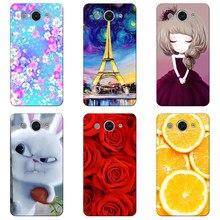 d4406d9c4 Original Colorful Mobile Phone Cases Cover for Huawei Y3 2017 CRO-L22 Y3II  Y3 II LUA-U02 Y360 Y3 Y336 Y3C Covers Print Case