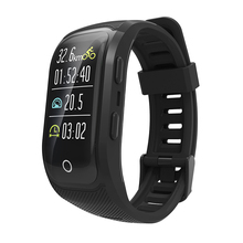 S908S GPS Tracking Watch IP68 Waterproof Multi-mode Sport Bracelet Heart Rate Monitor Smart Wristband Bluetooth Activity Tracker