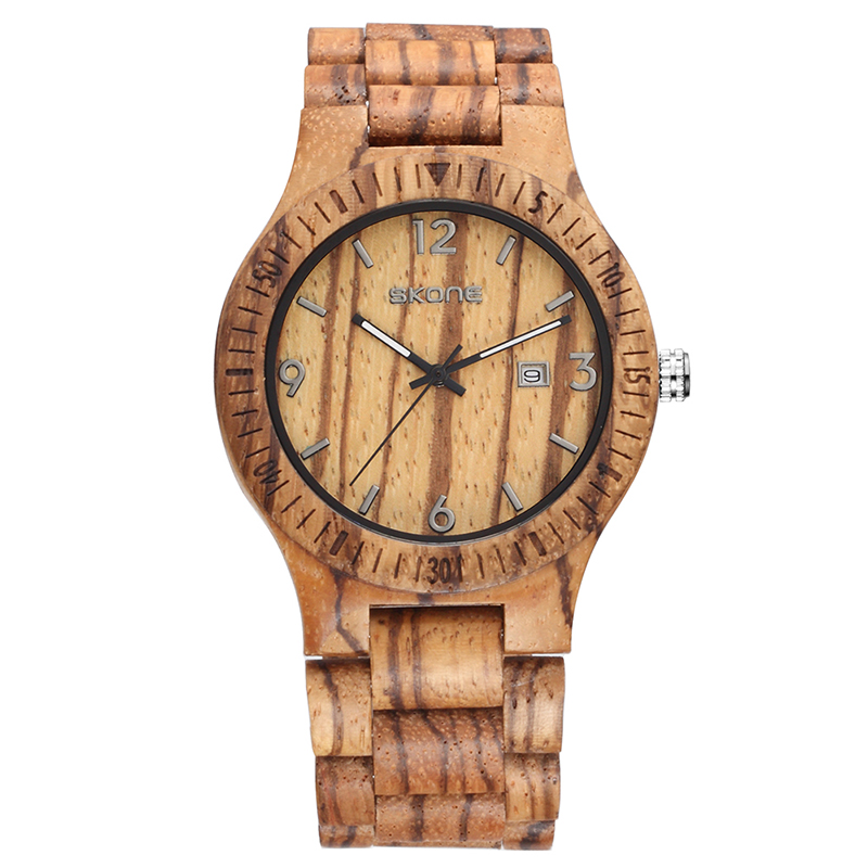 Подробнее о SKone Wood Watch Men Quartz Wooden Watches Casual Wood Wristwatches Classic Men's Natural Calendar Display Bangle Gift Relogio 2016 hot sell men dress watch men wooden quartz watch with calendar display bangle natural wood shock watches gifts relogio