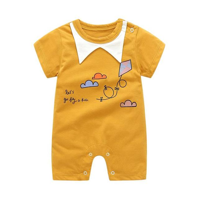 Short Sleeved Baby Romper