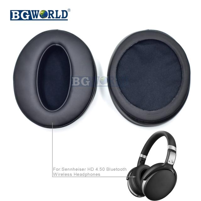 66740e042be BGWORLD Memory ear pads earapds cushion cover for Sennheiser HD 4.50 HD4.50  BTNC Bluetooth headphones headset