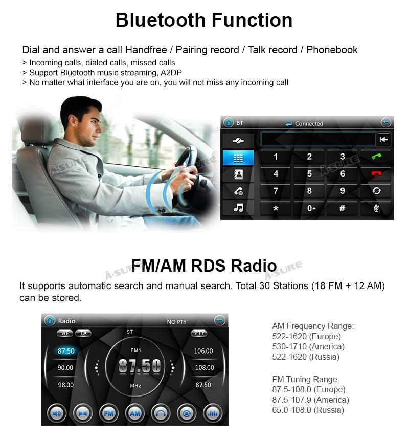 Win CE VW Golf Polo Tiguan Passat Seat Leon Octavia 2 Din Auto DVD GPS 62