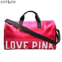 Large Capacity Women Hand Luggage Travel Bags Designer Cylinder Duffle Bag High Quality Waterproof Beach Bag