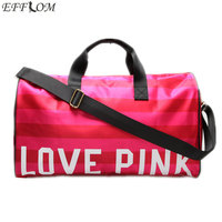 Large Capacity Women Hand Luggage Travel Bags Designer Cylinder Duffle Bag High Quality Waterproof Beach Bag