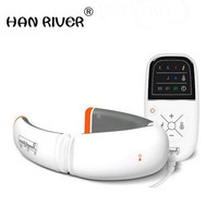 Pangao Neck Massage Infrared Heating Cervical Treatment Massager Pain Relief Therapy Vibration InfraRed Heat Magnet Health Care