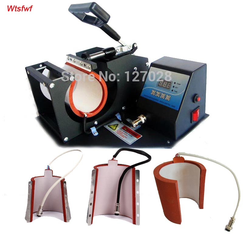 Wtsfwf Hot 4in1 Digital Mug Sublimation Transfer Printer Machine Mug Heat Press Printer Machine wtsfwf 30 38cm 8 in 1 combo heat press printer machine 2d thermal transfer printer for cap mug plate t shirts printing