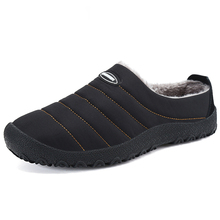 Boże narodzenie zima mężczyźni buty ciepłe pluszowe kapcie domowe japonki męskie antypoślizgowe kapcie Unisex kapcie domowe zapatos de hombre